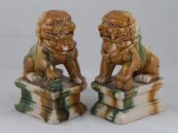 Coppia di Cani di Pho in ceramica