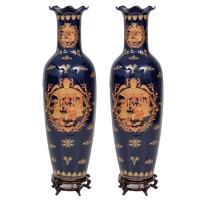 Coppia di Vasi in porcellana