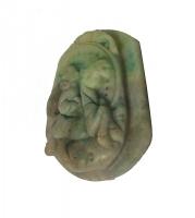 Medaglione in nefrite