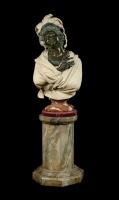Busto di Donna su colonna