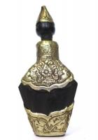 Snuff Bottle in legno e metallo
