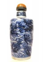 Snuff Bottle in porcellana